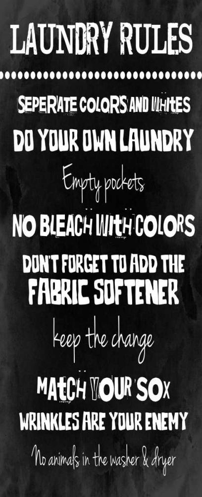 Laundry Rules Grey, Jace 25853