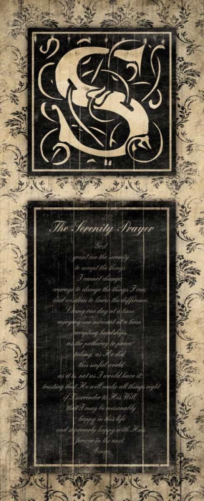 S The Serenity Prayer Grey, Jace 37844