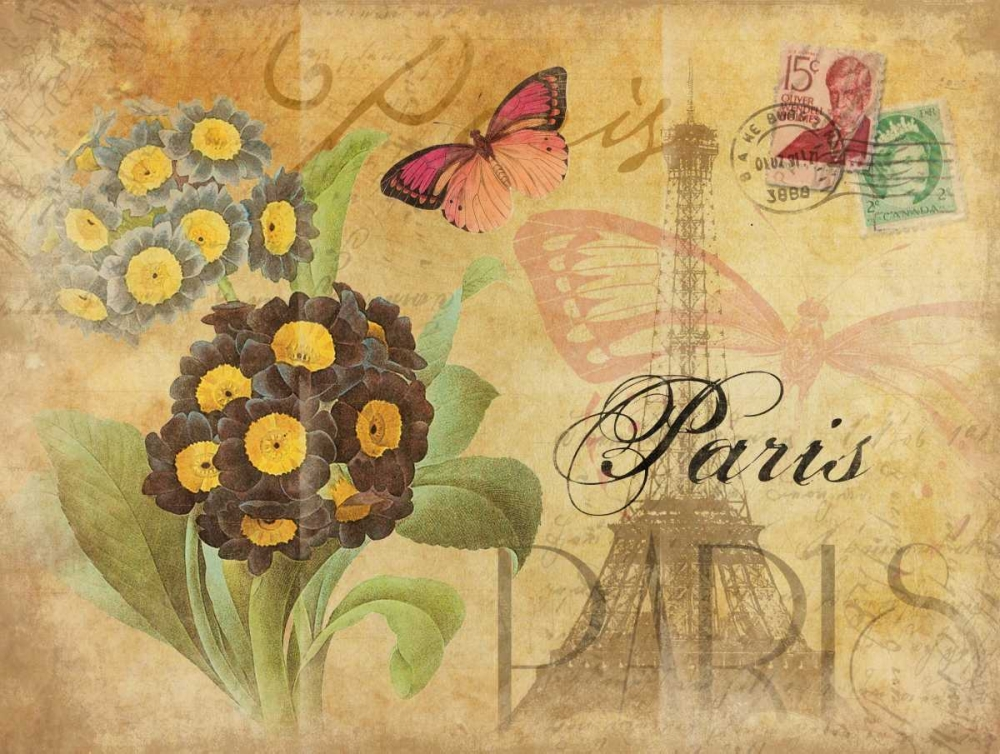 Paris Postcard 6 Grey, Jace 26005