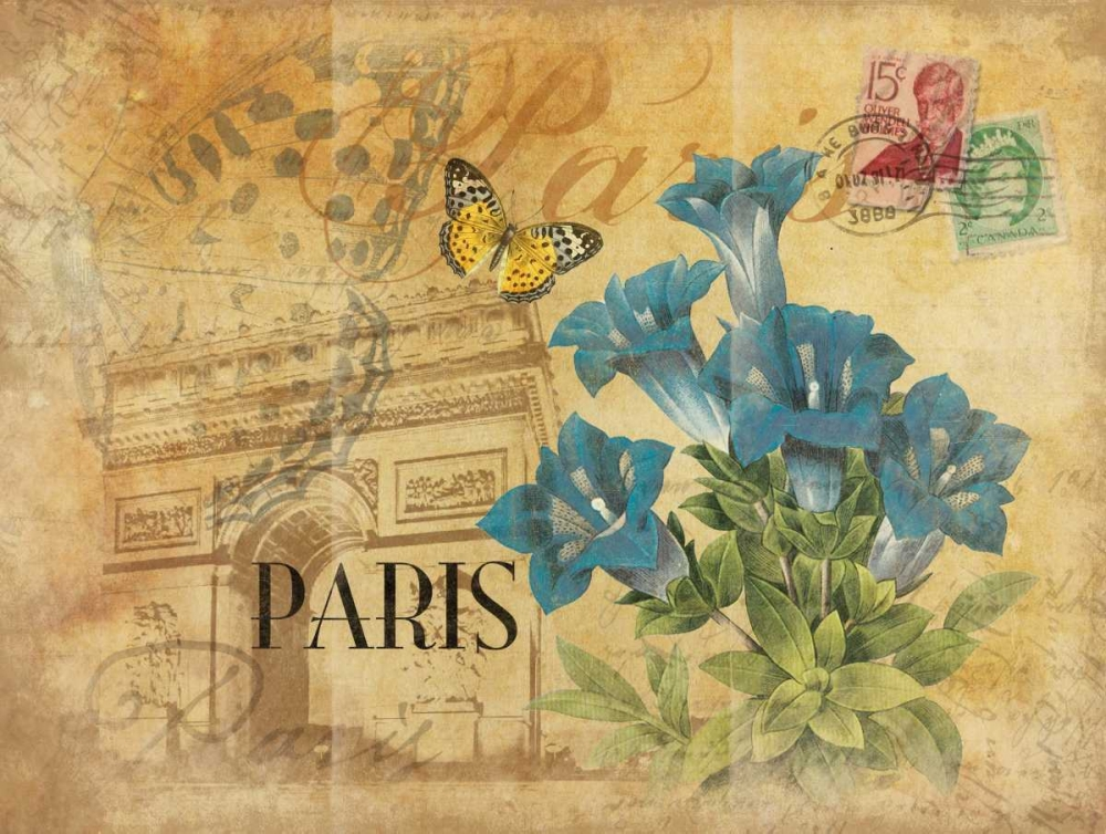 Paris Postcard 8 Grey, Jace 26007