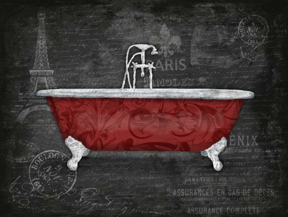 Red Bath 2 Grey, Jace 26533