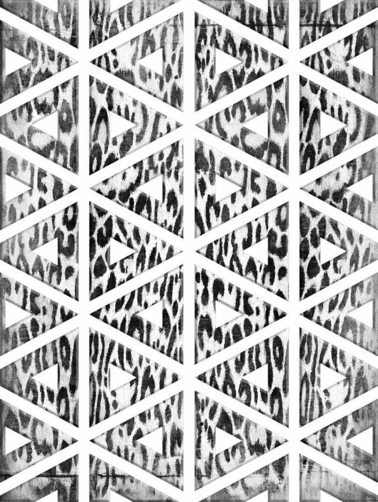 Triangular animals BW Grey, Jace 37605