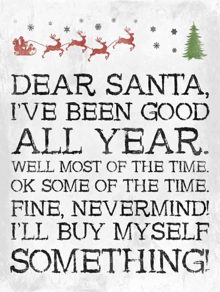 Dear Santa Nevermind White Grey, Jace 151828