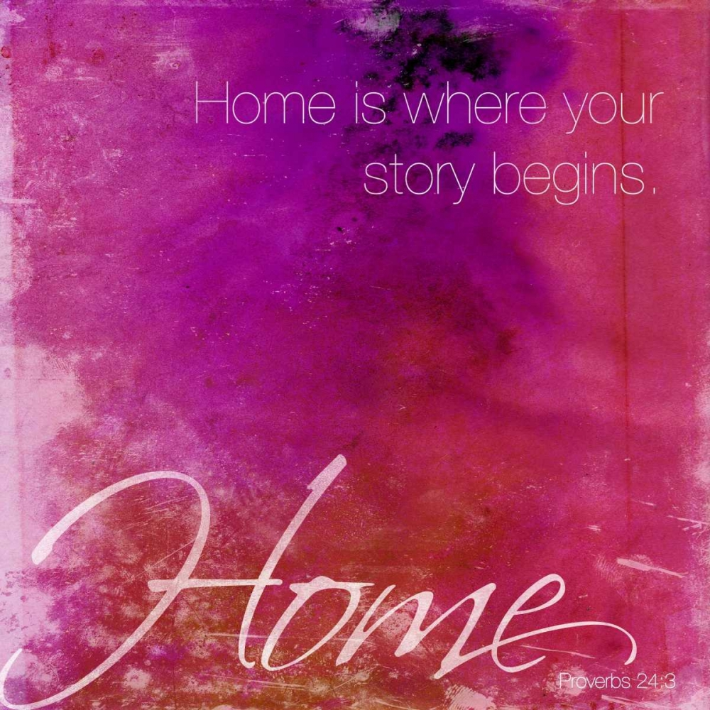 Watercolor Home quoted Grey, Jace 26702