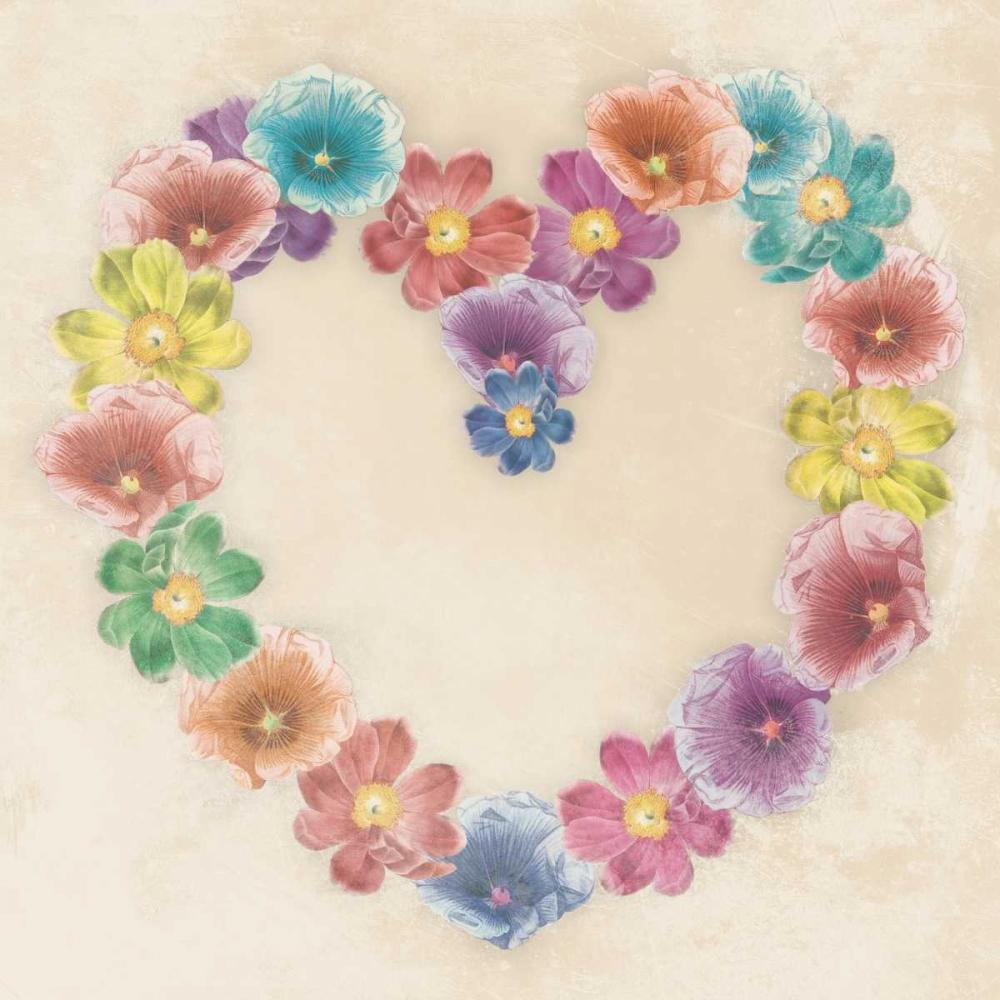 Floral heart Grey, Jace 26921