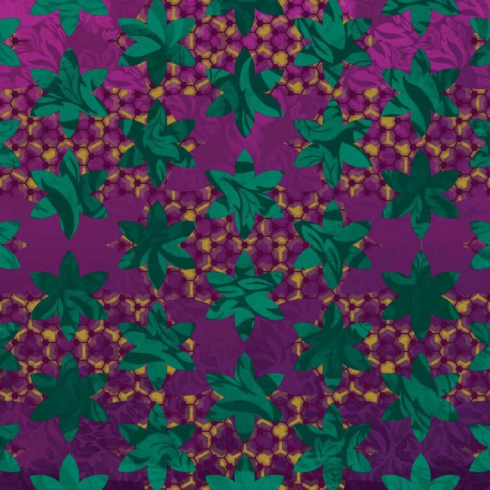 Floral Pattern Grey, Jace 27018