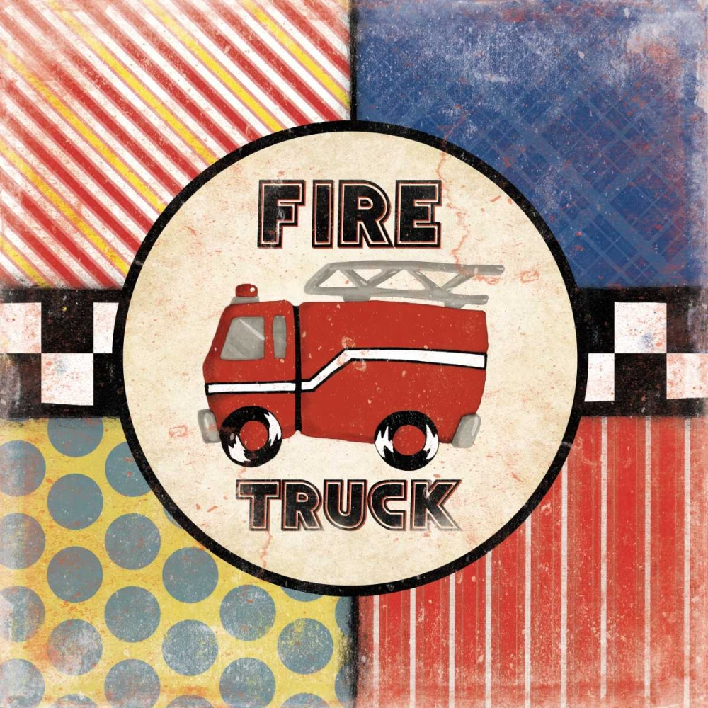 Fire Truck Grey, Jace 27455