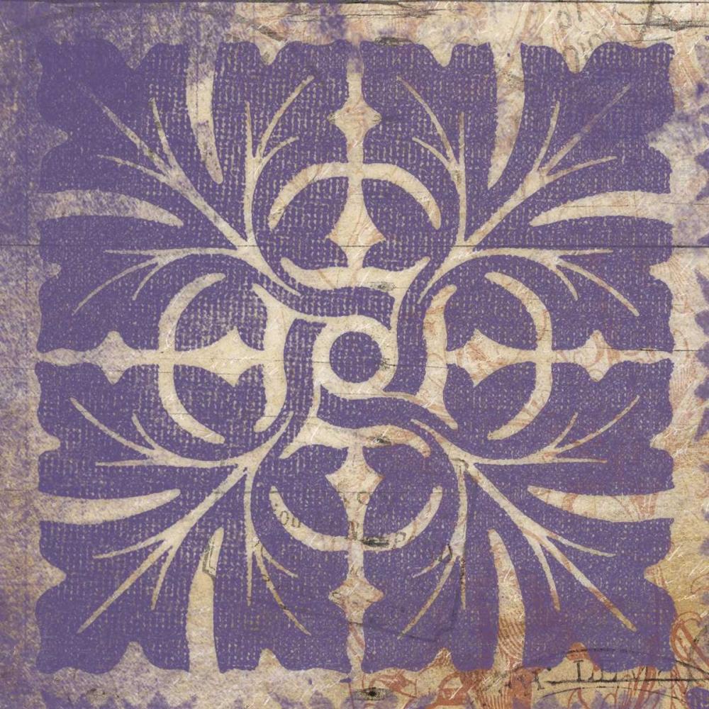 Purple Pattern 6 Grey, Jace 37743