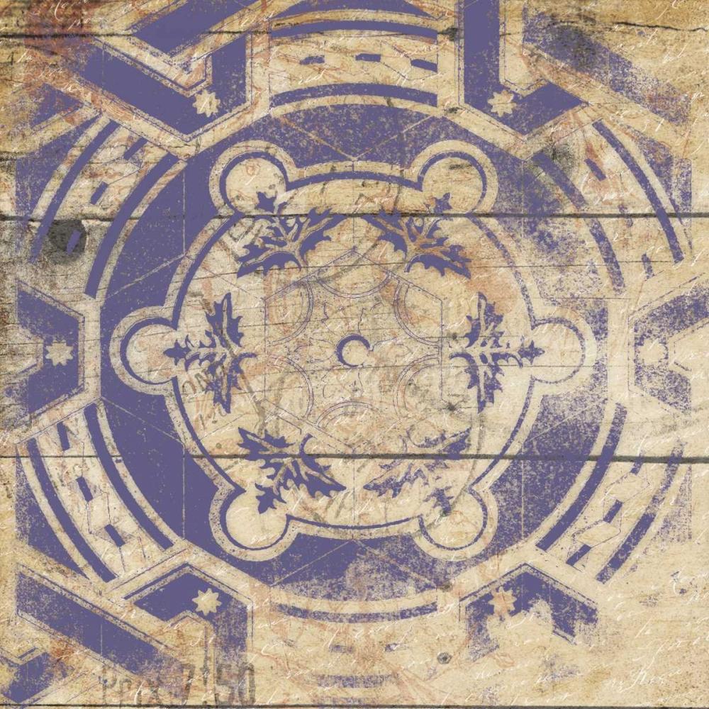 Purple Pattern 9 Grey, Jace 37746