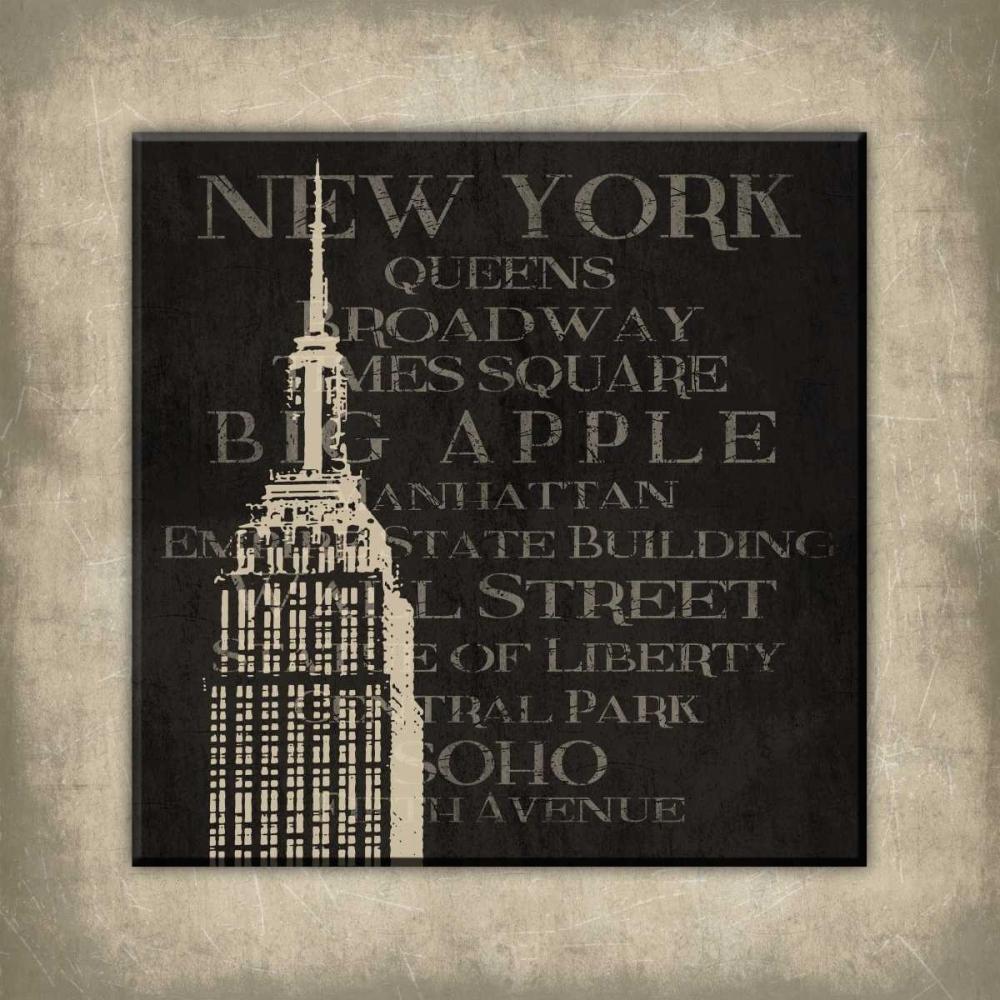New york type bordered Grey, Jace 37546