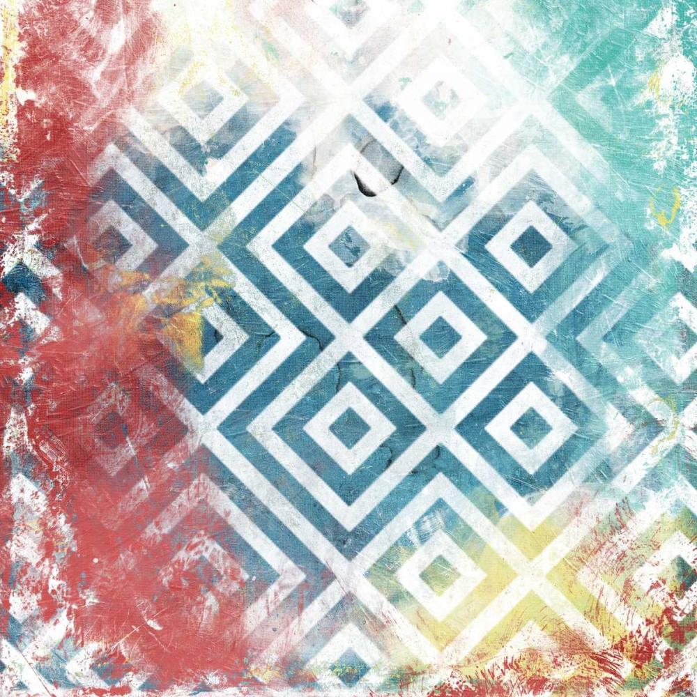 Happy Cosmic pattern mate Grey, Jace 37906