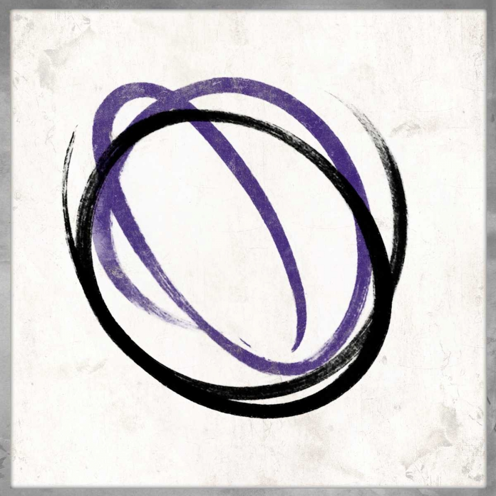 Abstract circle purple Grey, Jace 86587