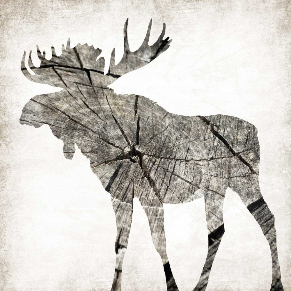 Wood Moose Mate Grey, Jace 86633