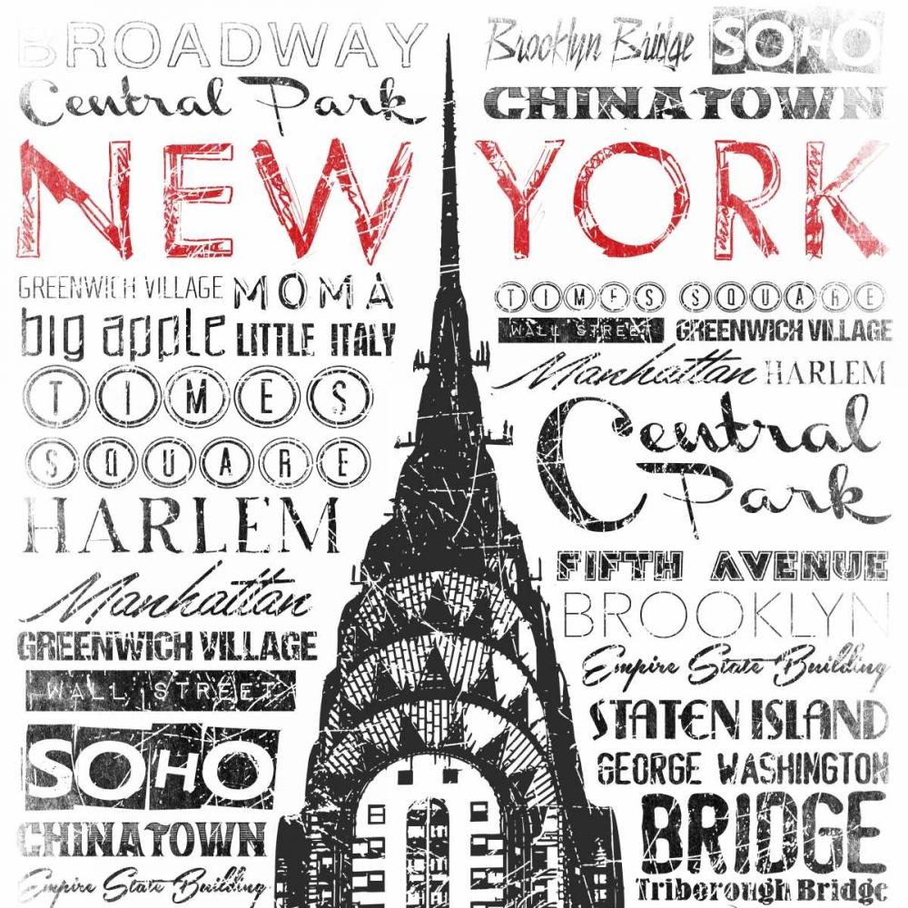 New York Words Grey, Jace 86687