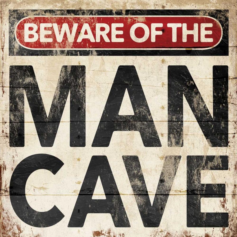 Mancave Sign Grey, Jace 86698