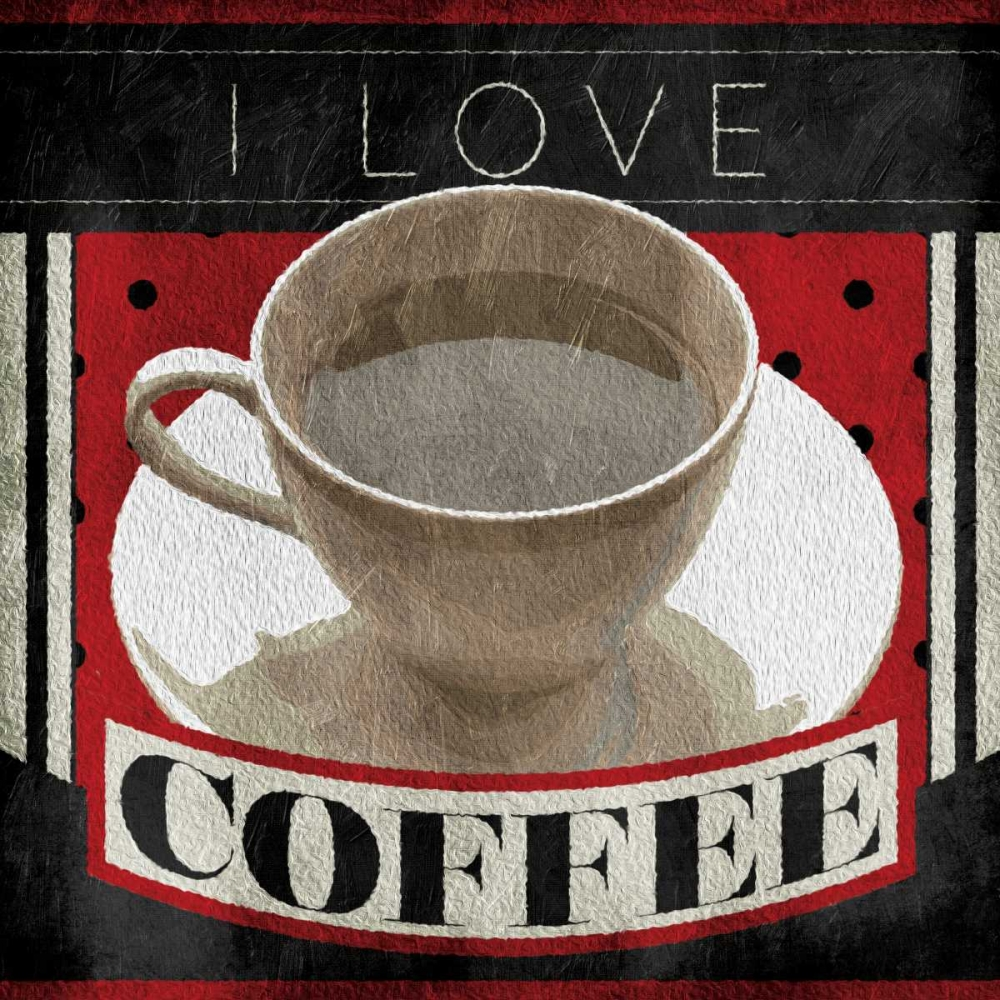 I Love Coffee Grey, Jace 151928