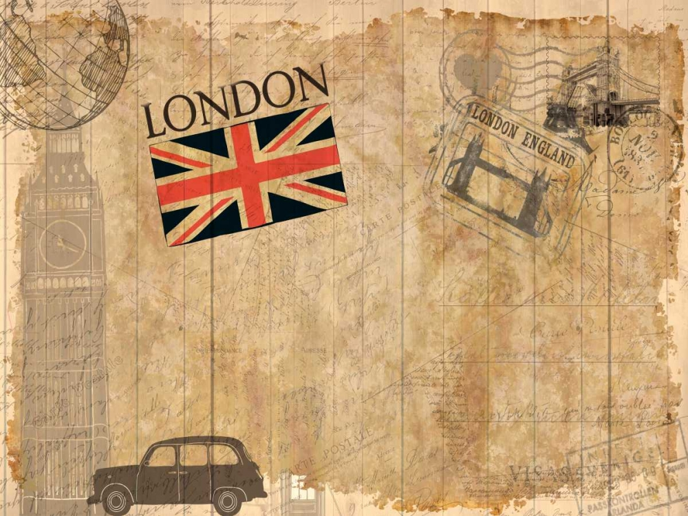 Post Card London Allen, Kimberly 106566