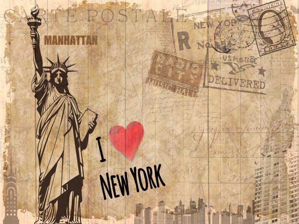 Post Card New York Allen, Kimberly 106567