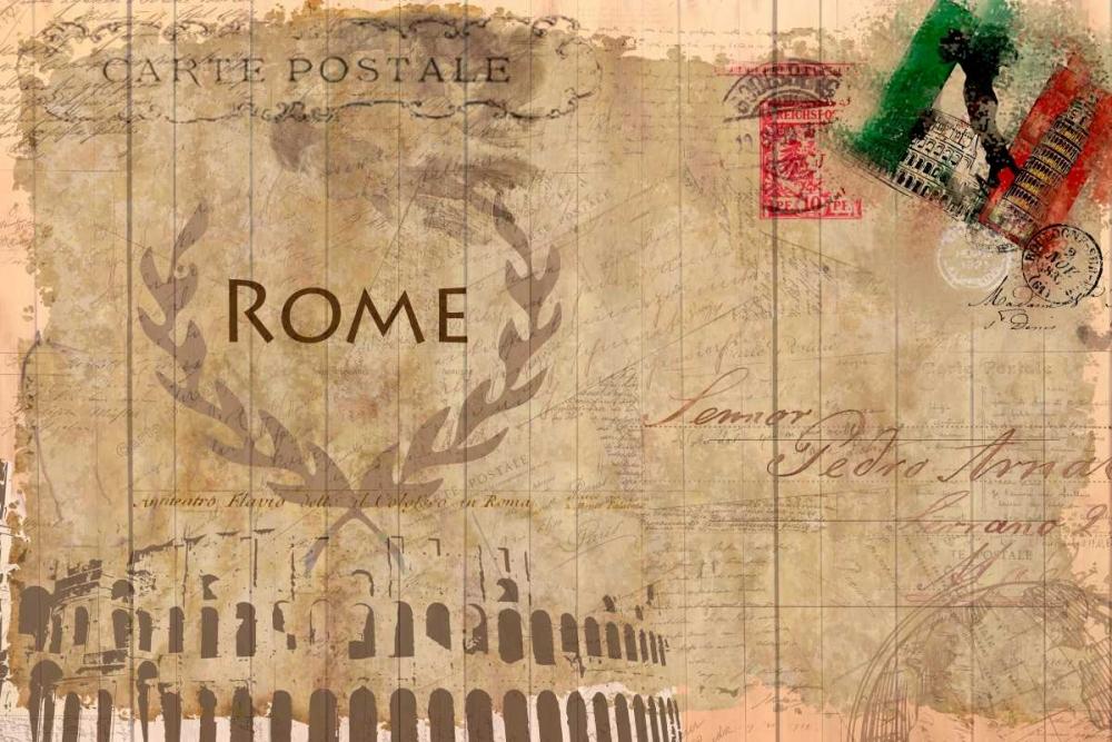 Postcard Rome Allen, Kimberly 106569