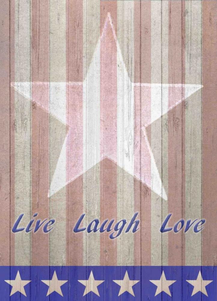 Live Laugh Love Flag Allen, Kimberly 106589