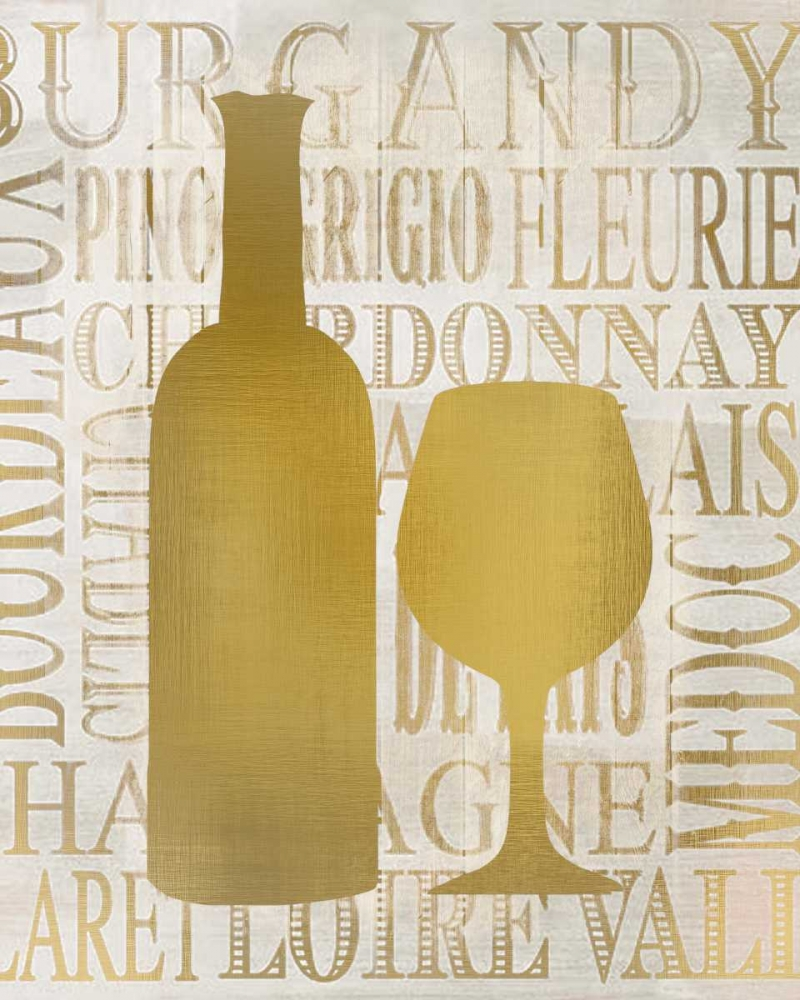 Golden Wine Silhouette 1 Allen, Kimberly 138142