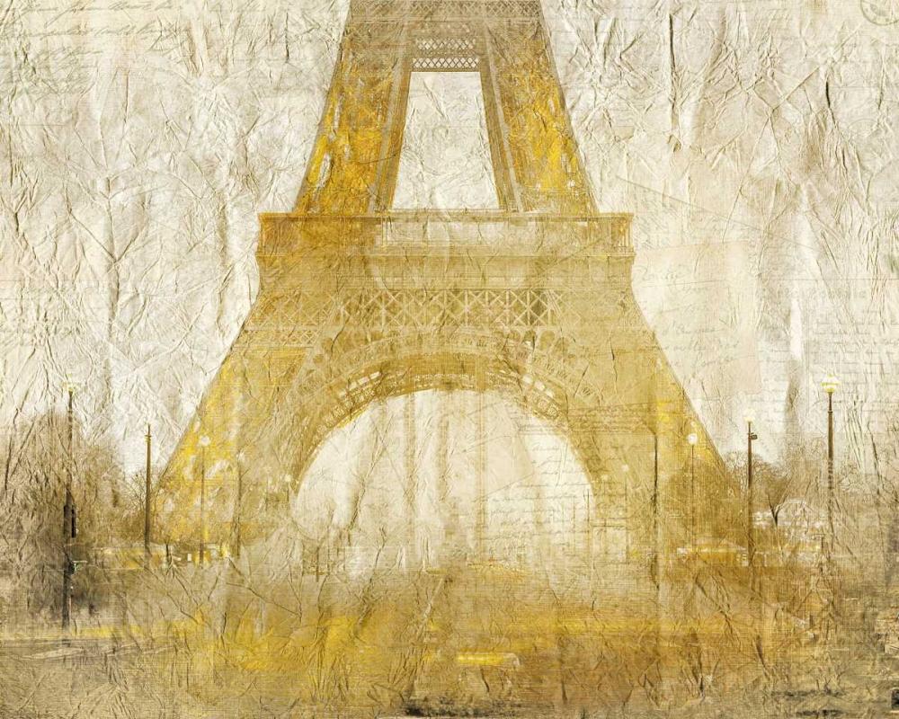Eiffel Tower Gold Allen, Kimberly 152087