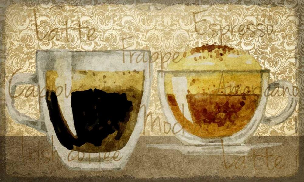 Damask Coffee 1 Allen, Kimberly 152169