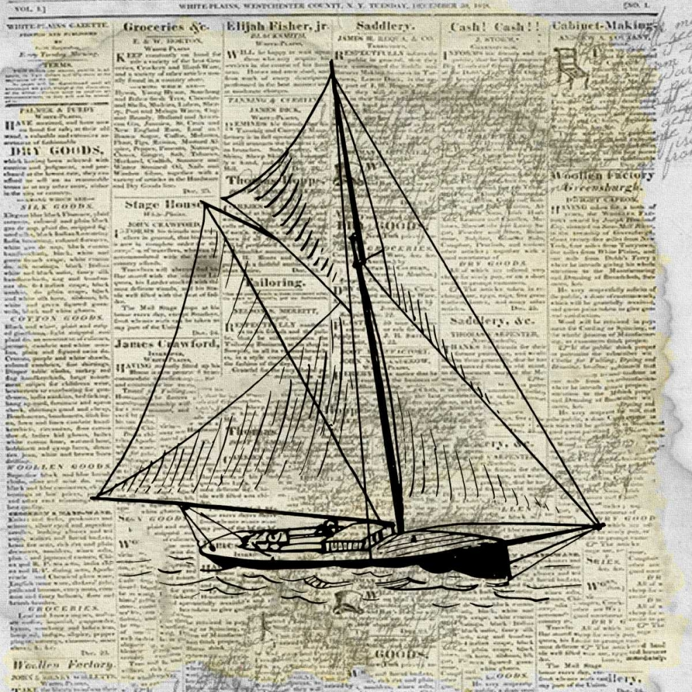 Sailing On Print 2 Allen, Kimberly 152233