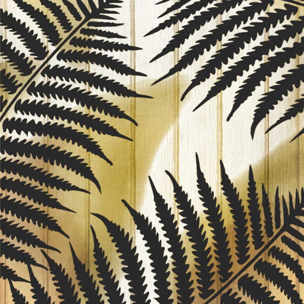 Tropical Leaves Golden 1 Allen, Kimberly 162968