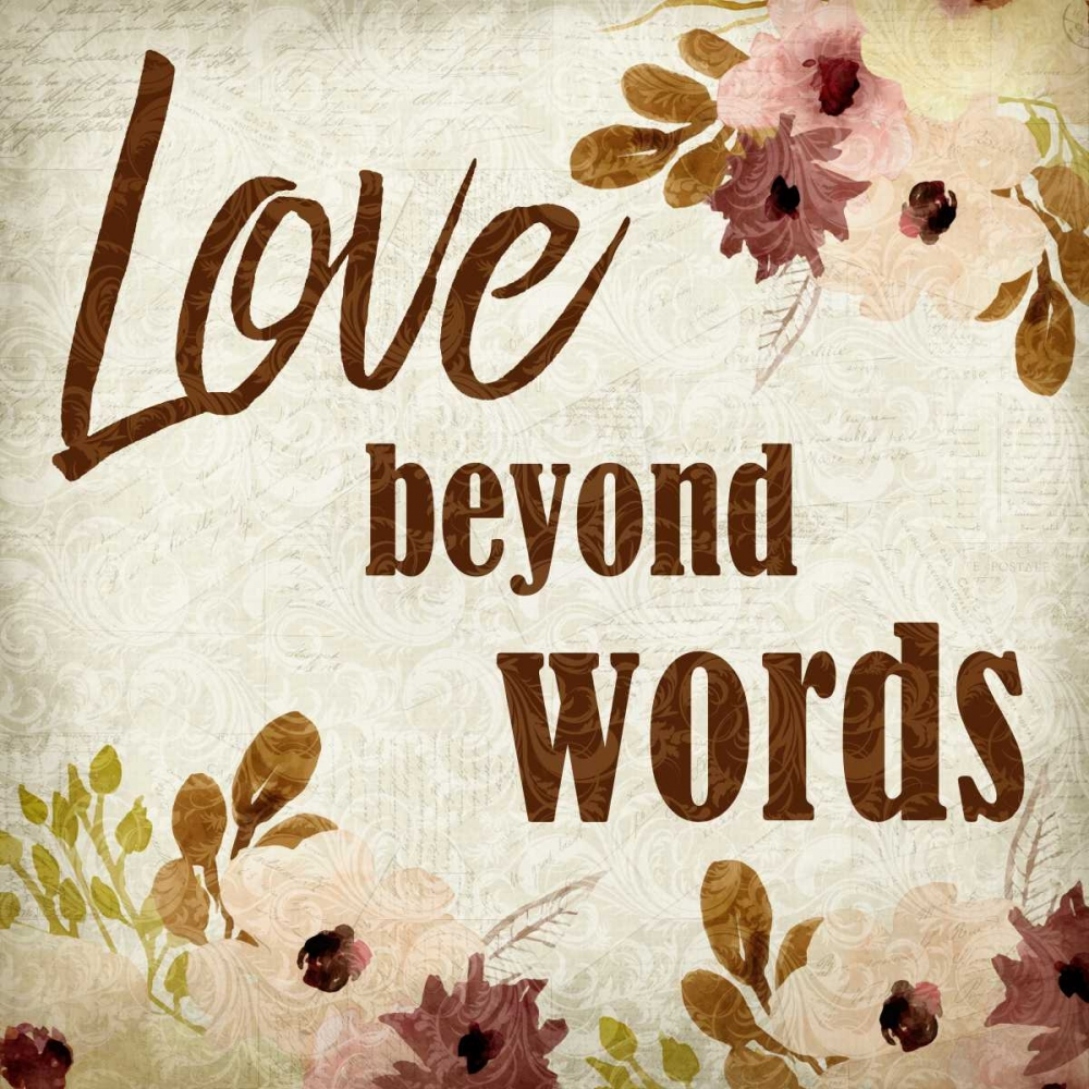 Love beyond Words Allen, Kimberly 152425