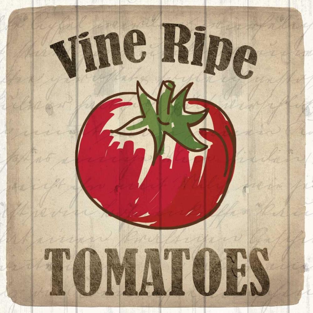 Vine Ripe Tomatoes Allen, Kimberly 161881