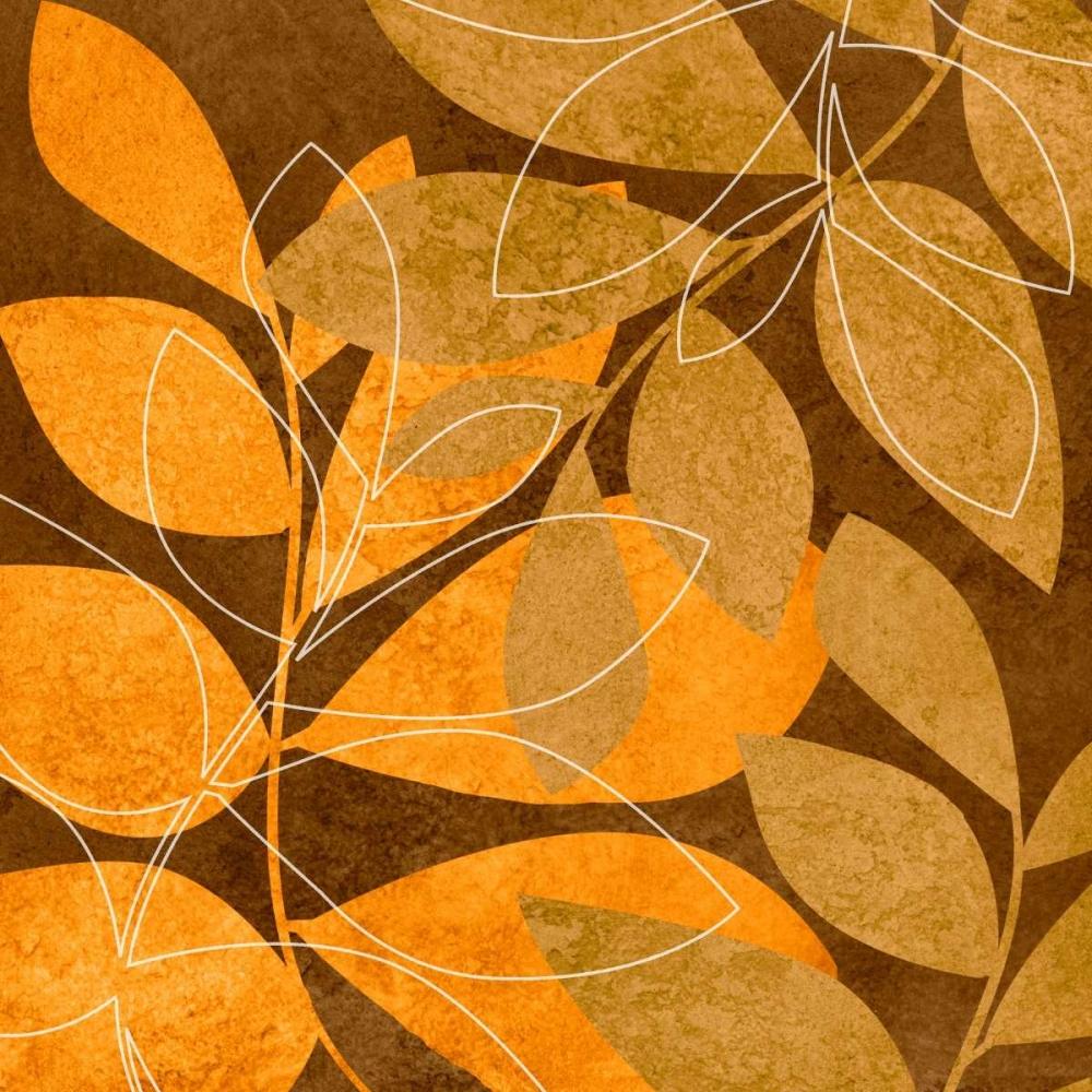 Orange Leaves II Emery, Kristin 7880