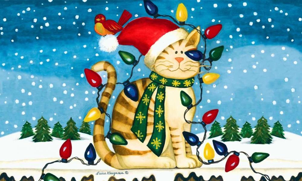 Christmas Cat Korsgaden, Laurie 86839