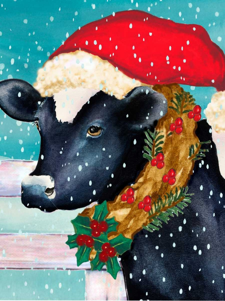 Christmas Cow Vertical Korsgaden, Laurie 86865