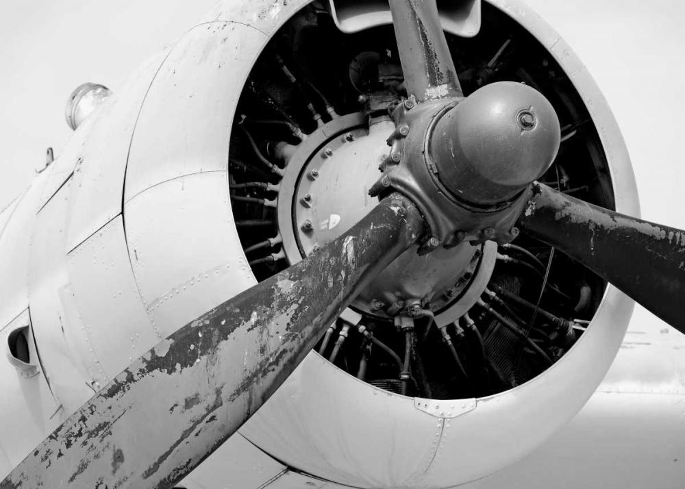 Plane Engine 5 BW May 106736