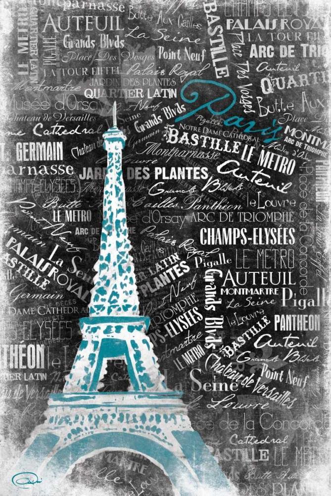 Eiffel Teal OnRei 32075