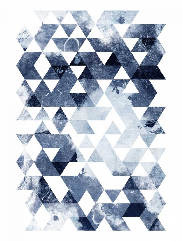 Blue Triangles Mate OnRei 106783