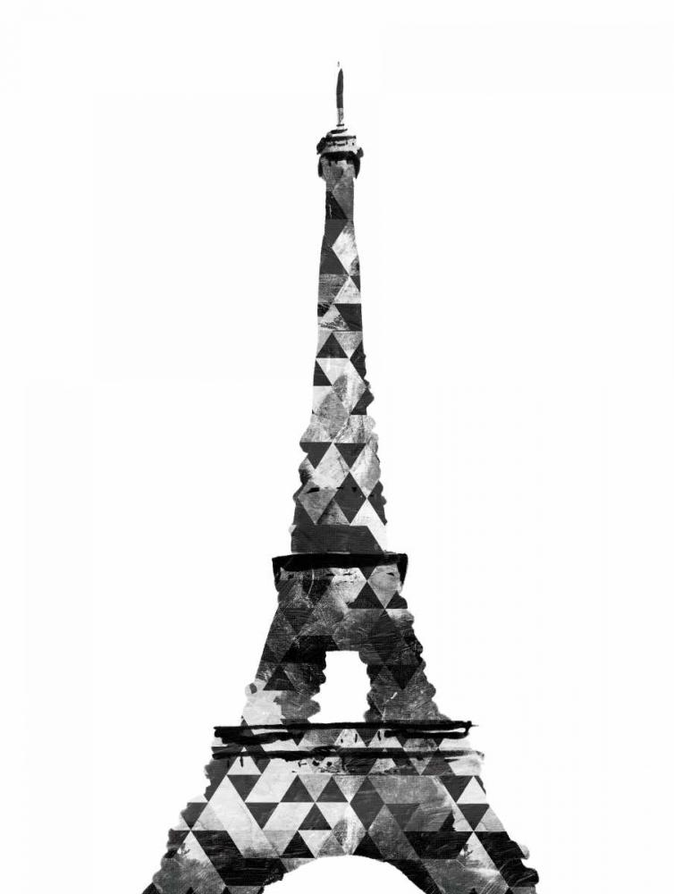 Grey Eiffel Triangles OnRei 162192