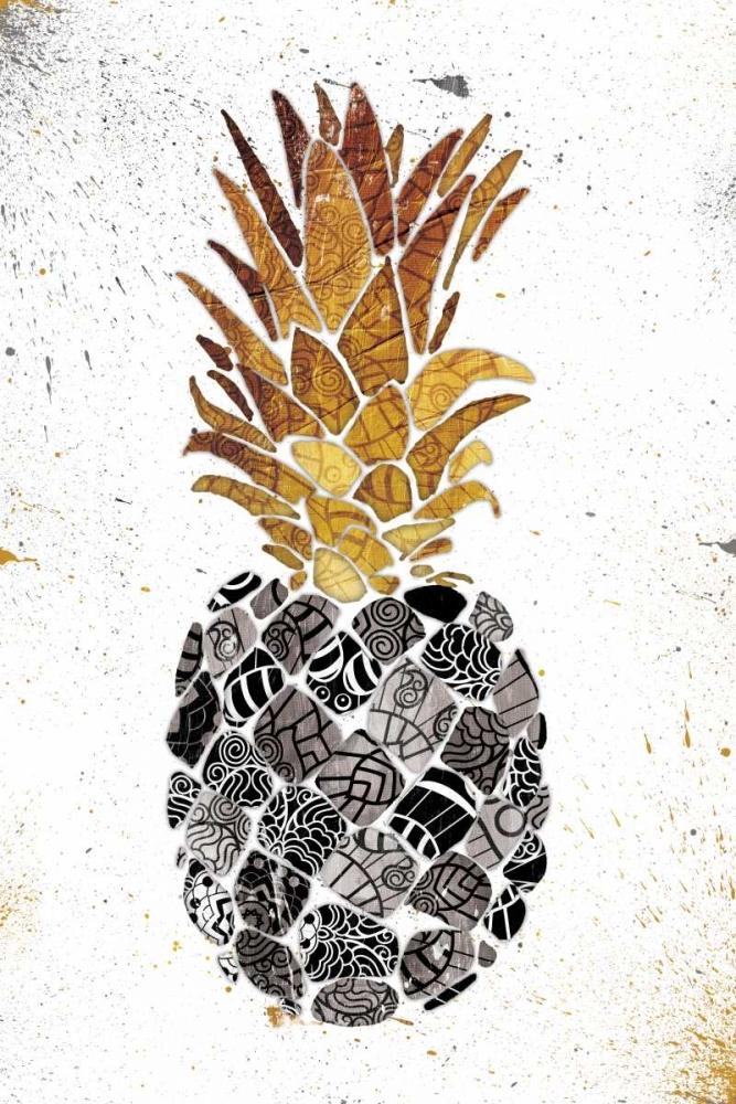 Golden Mandala Pineapple OnRei 162200
