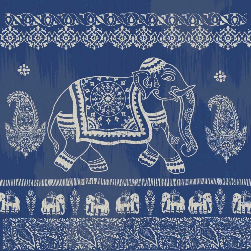 Boho Elephant Blue Allen, Candace 106885