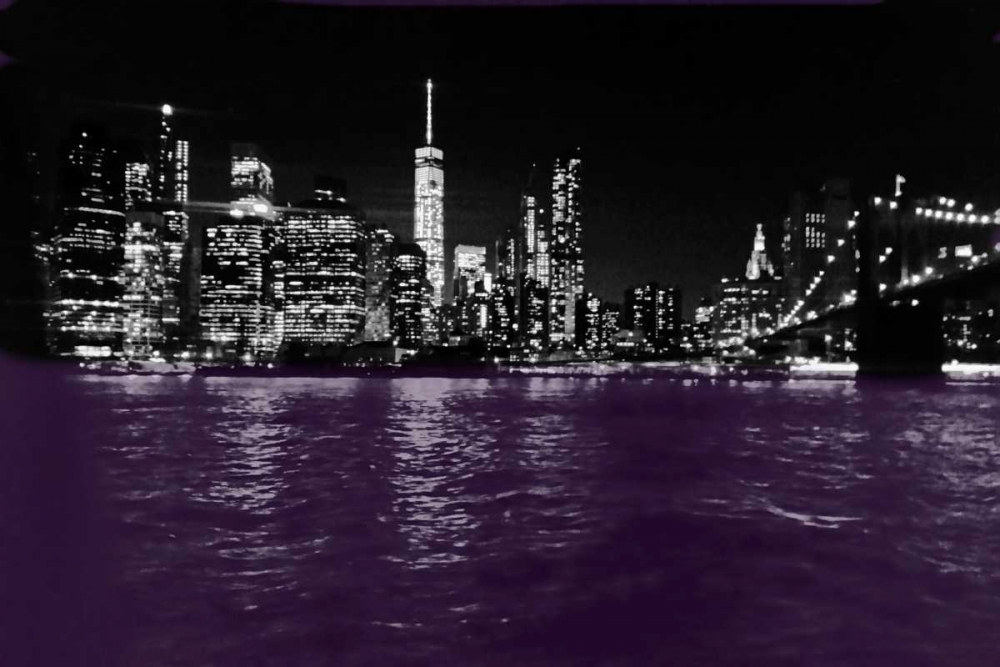 New York City Purple Rain Lewis, Sheldon 139334