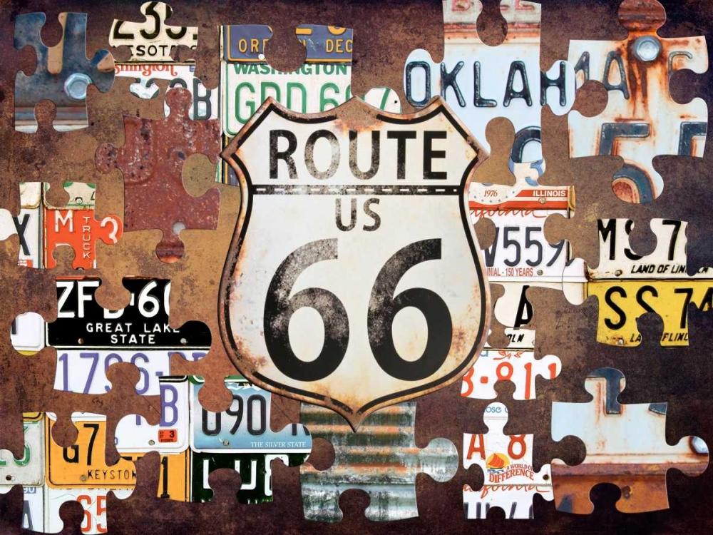 Route 66 Puzzle Lewis, Sheldon 139373