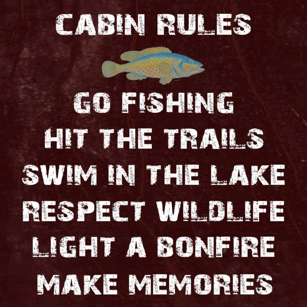 Cabin Rules Lewis, Sheldon 139478