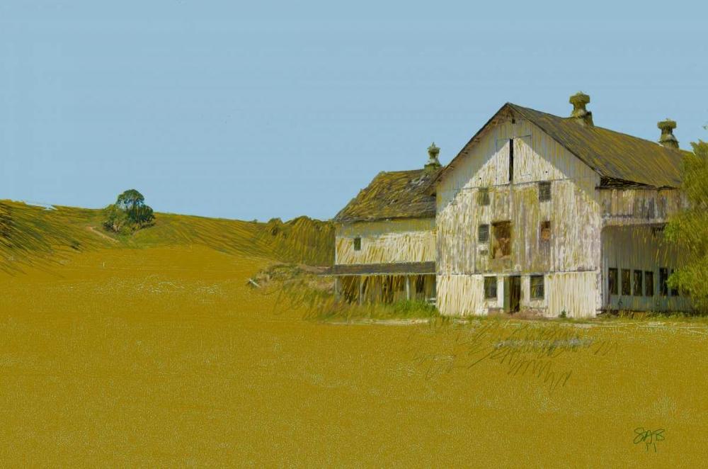 Barn With Blue Sky Butcher, Sarah 152845