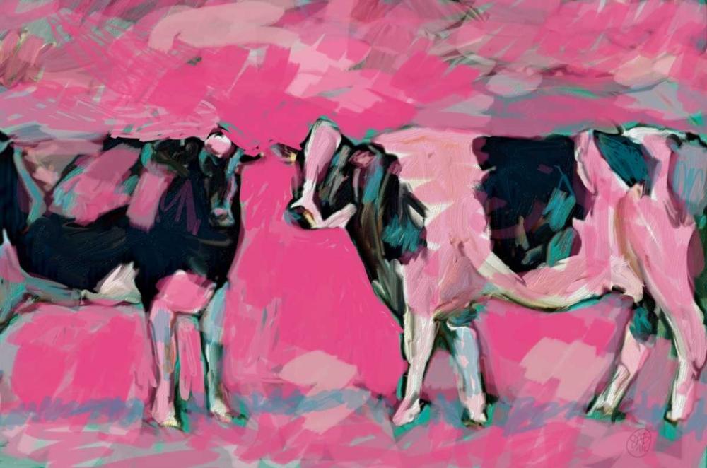 Pink Cows 1 Butcher, Sarah 162545