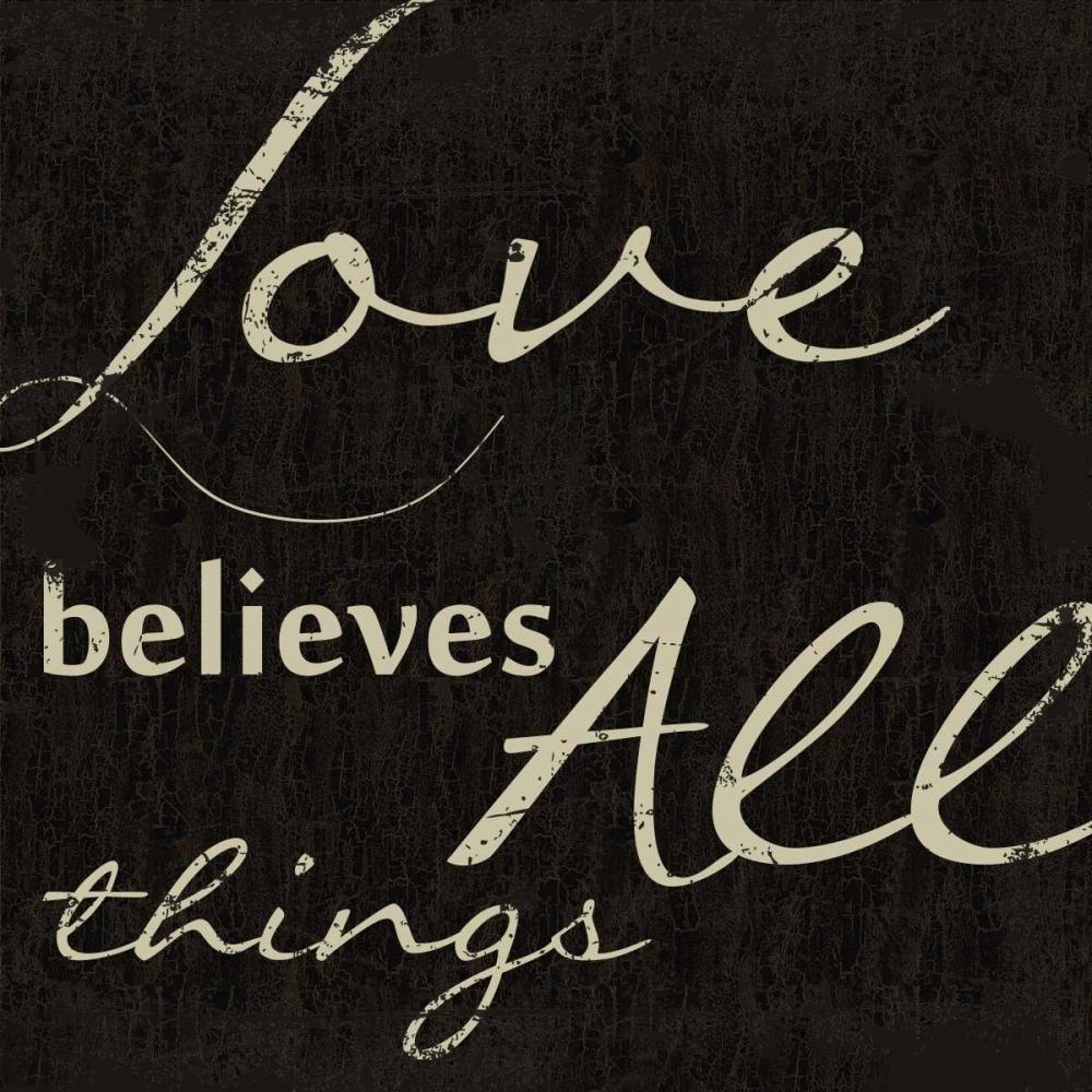 LOVE BELEIVES ALL Greene, Taylor 40405