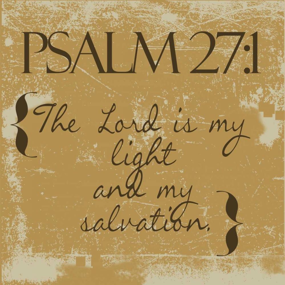 Psalms 27-1-Gold Greene, Taylor 40510