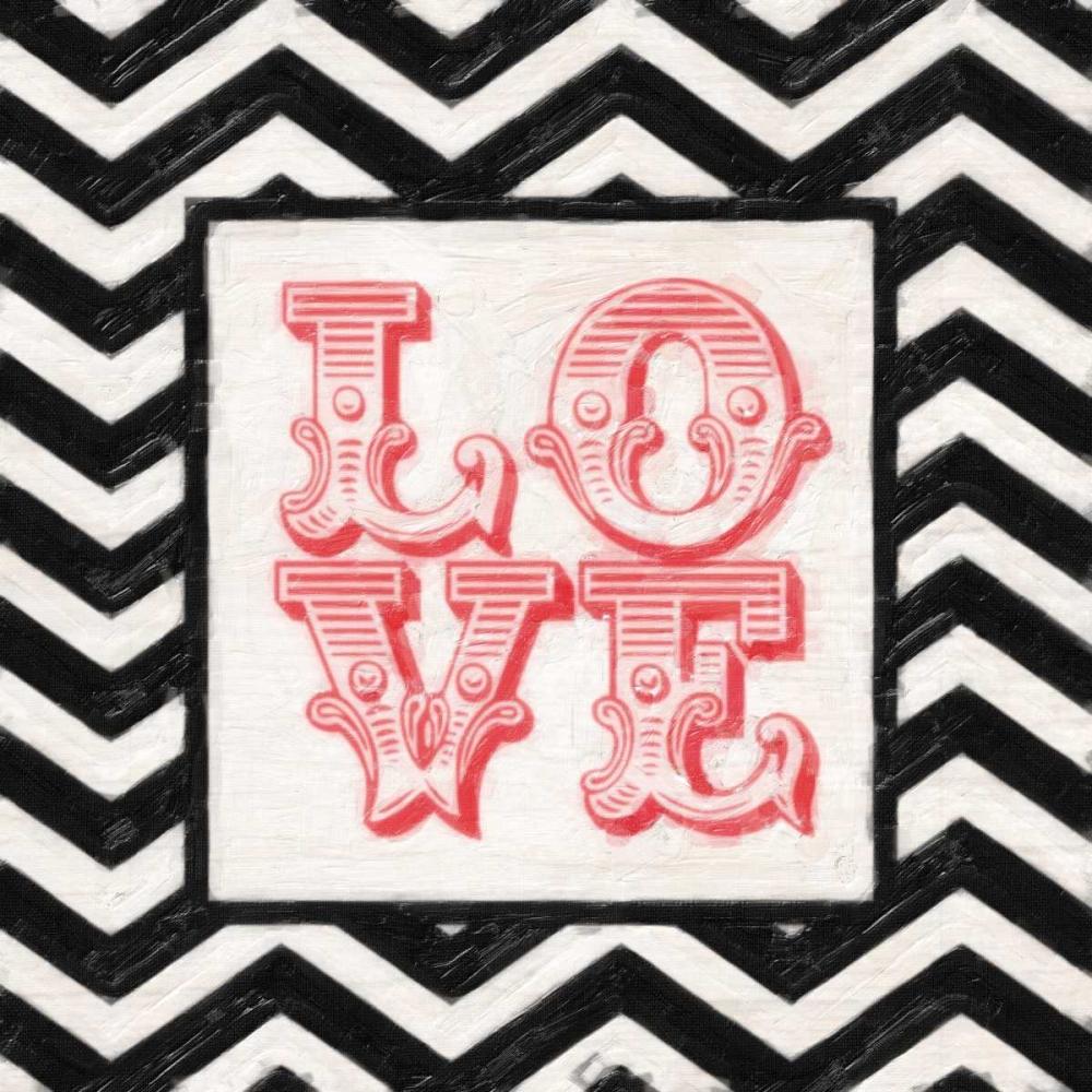 CHEVRON LOVE RED Greene, Taylor 40860