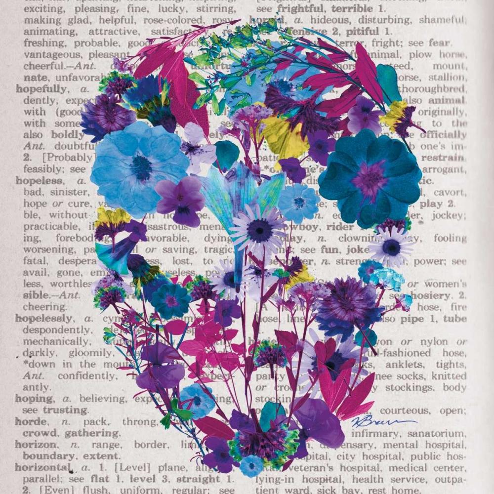 Skull 1 Brown,Victoria 107087