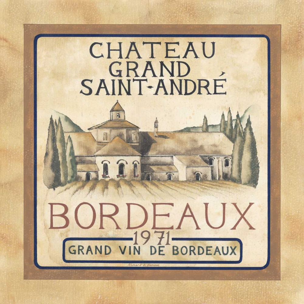 Bordeaux 1971 Henson, Richard 55498